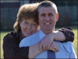 Andrea e Andrew Mullen (Foto cedida por Imperial College Healthcare NHS Trust)