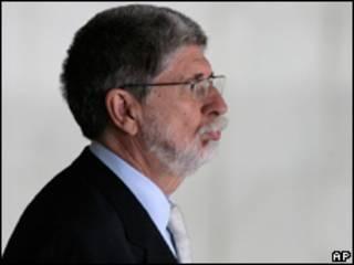 O ministro das Relações Exteriores Celso Amorim. Foto AP