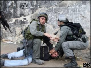 полиция в восточном Иерусалиме
