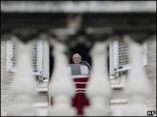 O papa Bento 16 (arquivo)
