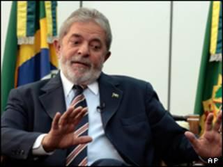 O presidente Luiz Inácio Lula da Silva. Foto AP