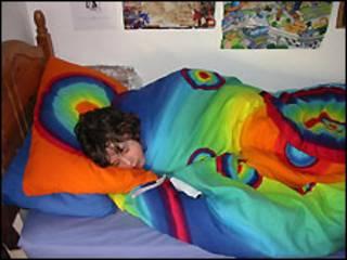 Adolescente dormindo
