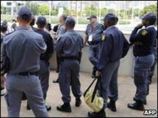 दक्षिण अफ्रीकी पुलिस