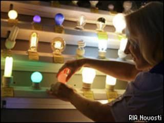 Лампы в магазине