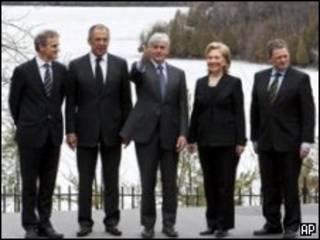 وزیران خارجه شرکت کننده در اجلاس