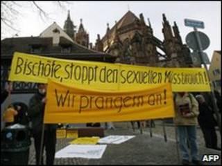 Manifestação na Alemanha