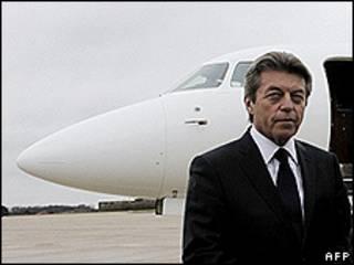 Alain Joyandet, foto de arquivo