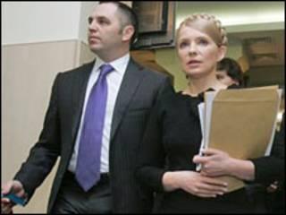 Портнов і Тимошенко у ВАСУ, архівне фото УНІАН