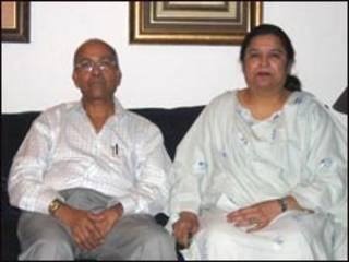 आयशा सिद्दीक़ी के माता-पिता