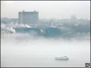رودخانه هادسون در نیویورک