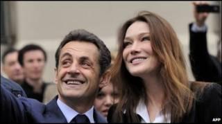 Николя Саркози и Карла Бруни