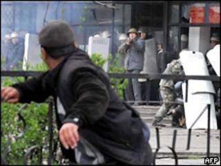 درگیری ها در قرقیزستان