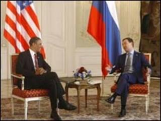 اوباما و مدودف