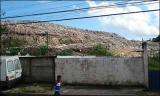 Aterro próximo ao Morro do Céu - foto: Caio Quero