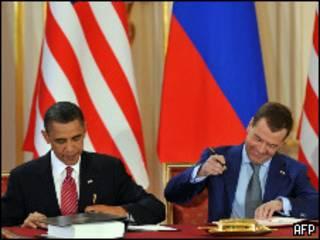 Подписание нового договора об СНВ