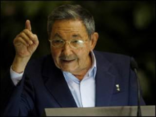 Shugaba Raul Castro na Cuba
