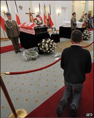 Прощание с Лехом Качиньским