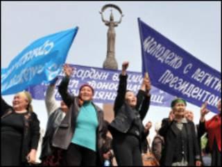 Бишкекдаги норозиликлар