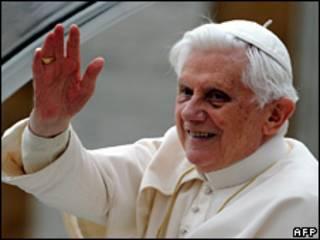 O papa Bento 16 (AFP/Arquivo)