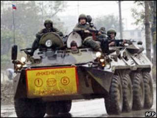 Войска минобороны РФ в Чечне