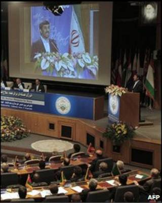 Конференция по ядерным проблемам в Тегеране 17 апреля 2010 г.