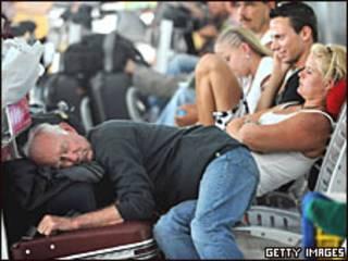 Passageiros na Tailândia