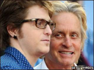 Michael y Cameron Douglas