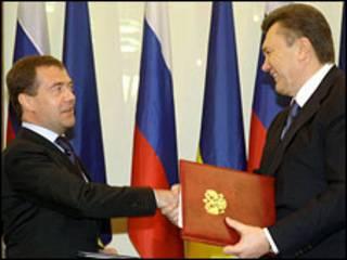 Мєдвєдєв і Янукович