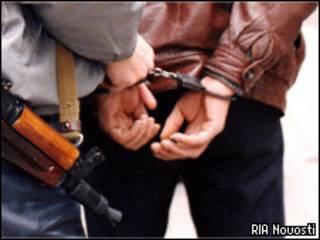 Задержание милицией