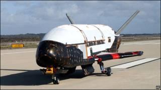 Беспилотный орбитальный самолет
