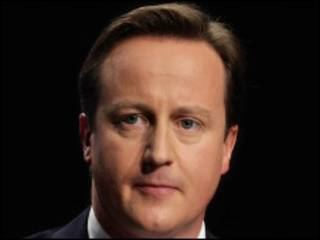 David Cameron, Conservative party leader