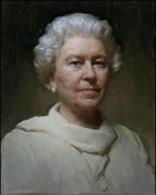 亚历山大希望这幅肖像画能展现出女王的人格魅力。