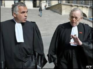 Los abogados franceses de Noriega