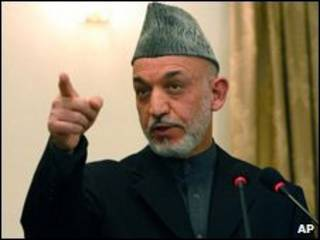 Президент Хамид Карзай
