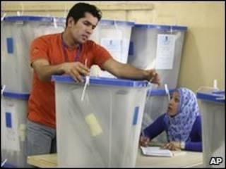 Подсчет голосов в Ираке