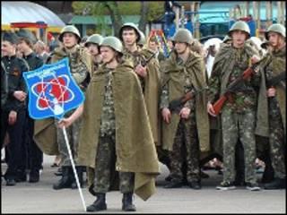 Черкащани у військовій формі 40-их рр.