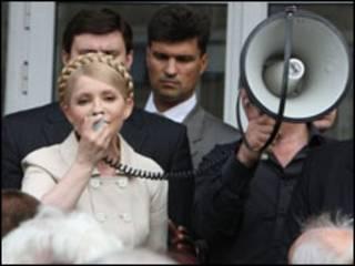 Тимошенко агітує в регіонах