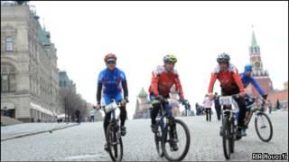 Велопробег Москва - Санкт-Петербург