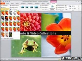 Microsoft Office интерфейс