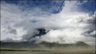 Облако вулканического пепла