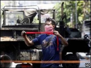 Violencia en Tailandia