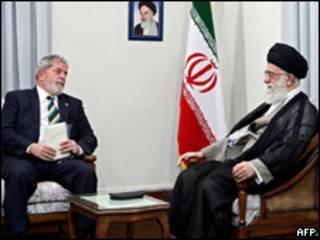 Lula e Khamenei