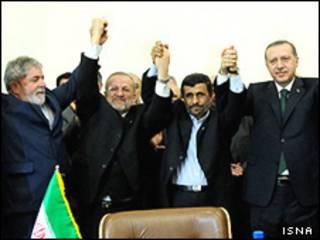 اردوغان (راست) و داسیلوا (چپ)