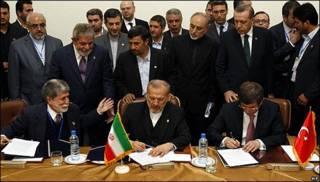 Firma de acuerdo entre Irán y Turquía.