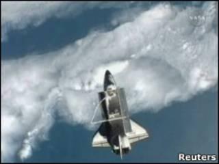 """""""Атлантис"""" на орбите"""