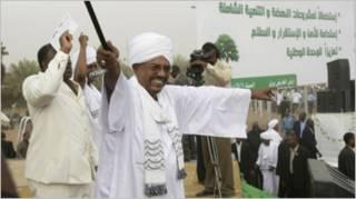 Shugaba el-Bashir na Sudan