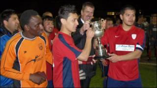 تیم پیروزی، از تیم های افغانها در انگلیس