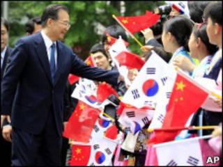 Primer ministro chino, Wen Jiabao.