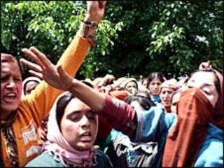विरोध प्रदर्शन कश्मीर (फ़ाइल फ़ोटो)
