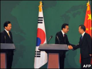Los líderes asiáticos se reunieron en Corea del Sur